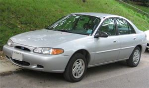 1999 Ford Escort Silver