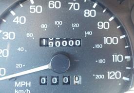 Car 190,000 miles