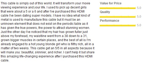 Best Buy HDMI Cable Review